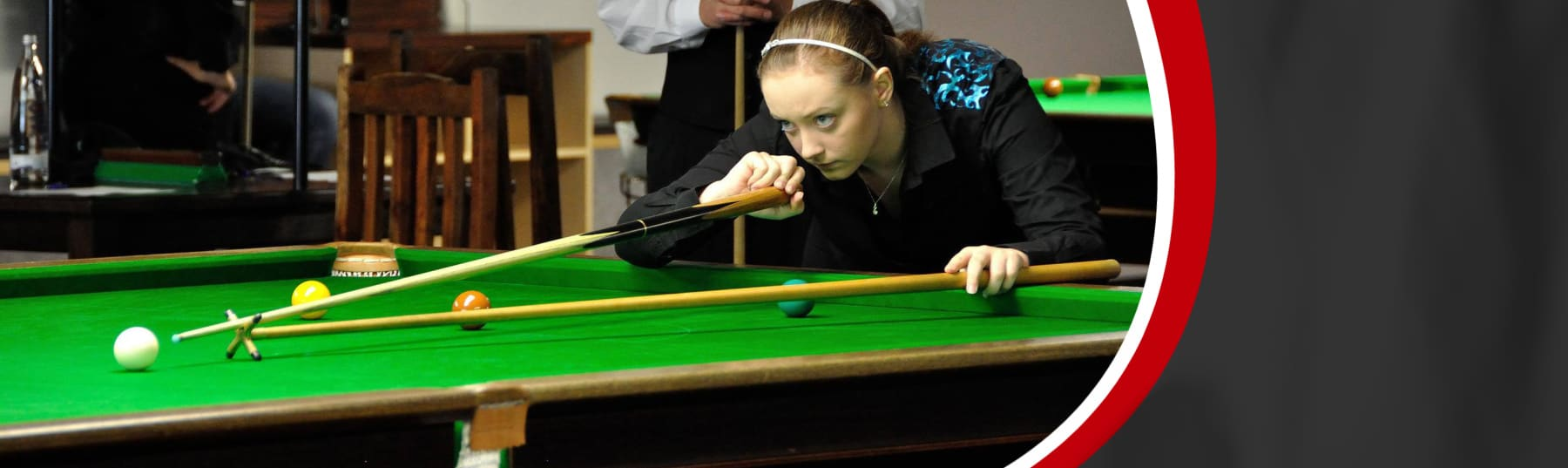 Snooker champion pursues new career.